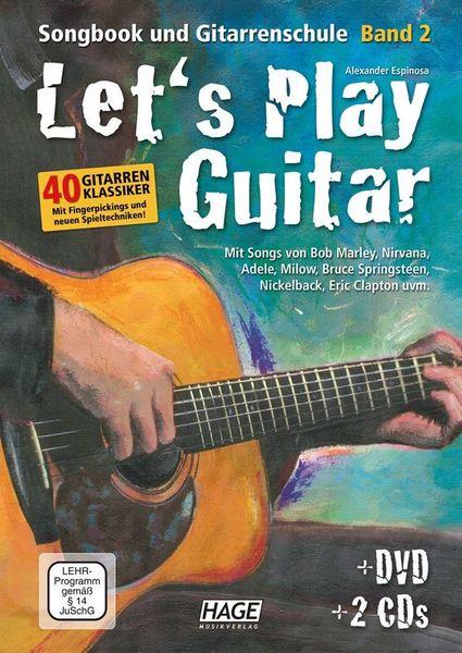 Let's Play Guitar Vol.2 Hage Musikverlag