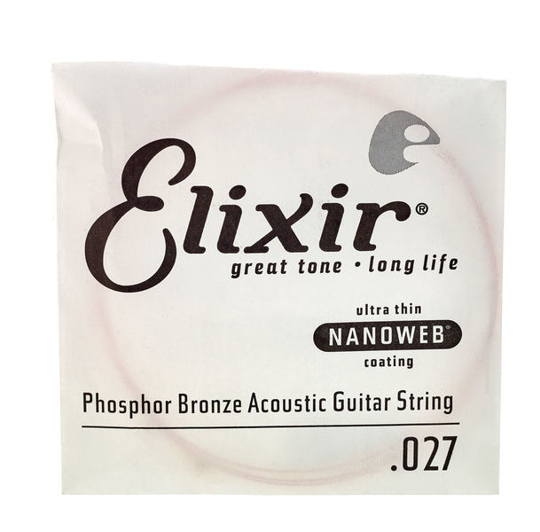 Elixir .027 Western Guitar Ph.