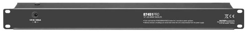 Adam Hall 87451 Pro LED Rack light white