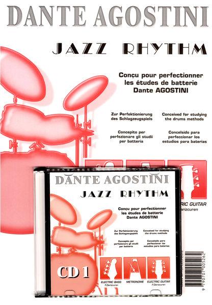 Dante Agostini Rythmique Jazz, Volume 1