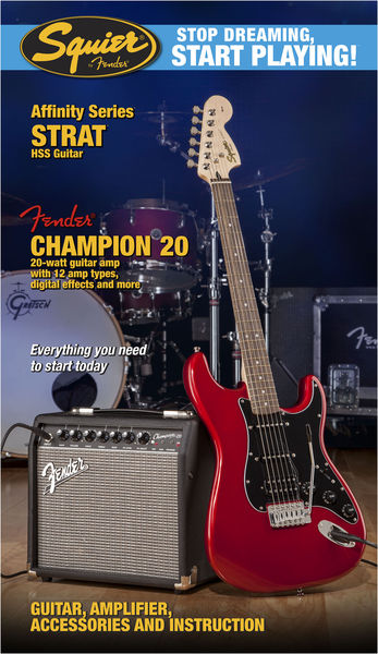 Fender SQ Affinity HSS/Champion CAR