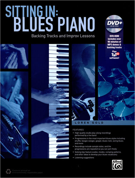 Alfred Music Publishing Sitting In: Blues Piano