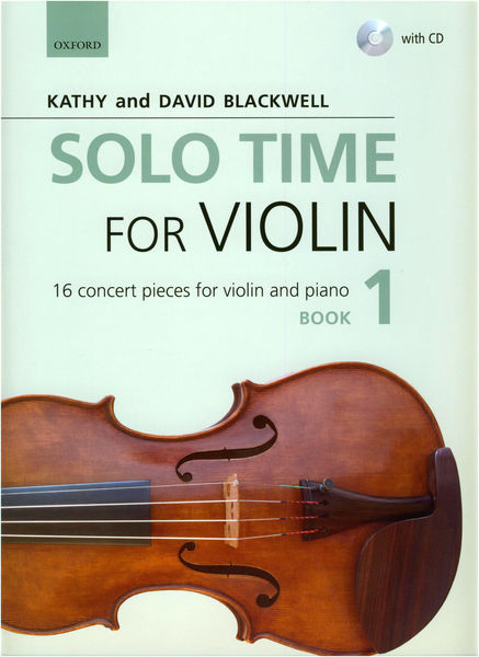 Solo Time For Violin Book 1 Oxford University Press