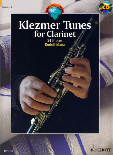 Schott Klezmer Tunes For Clarinet