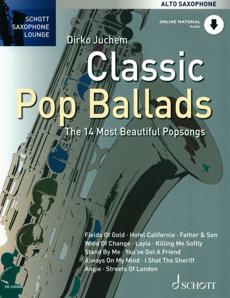 Classic Pop Ballads A-Sax Schott