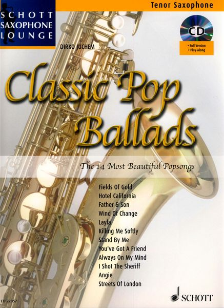 Schott Classic Pop Ballads T-Sax