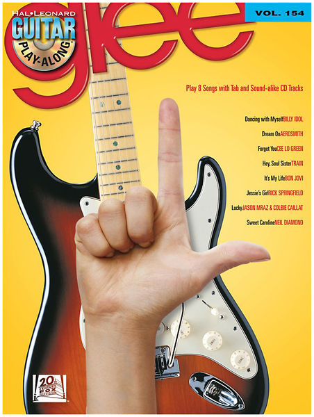 Hal Leonard Guitar Play-Along Vol.154 Glee