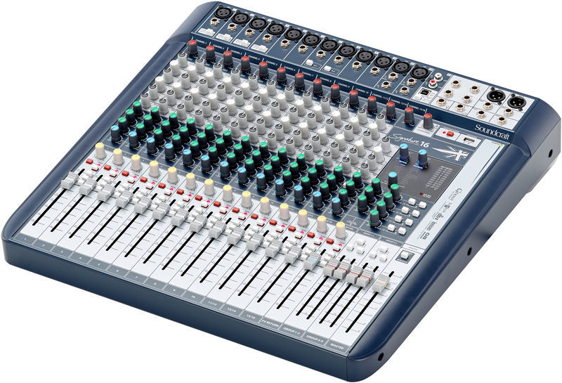 Signature 16 Soundcraft