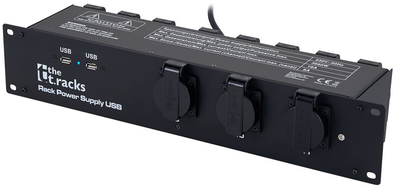 the t.racks Rack Power Supply USB