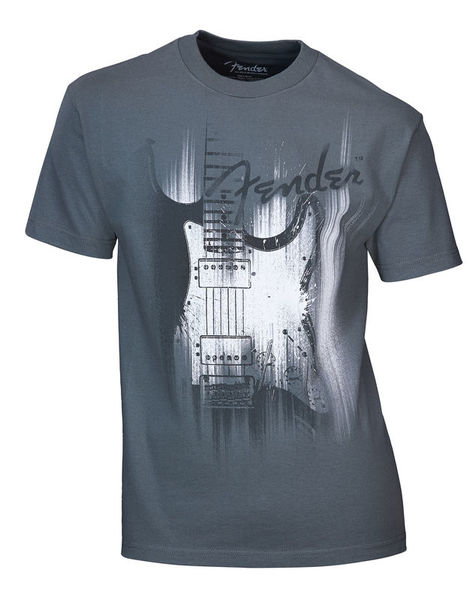Fender T-Shirt Airbrushed Strat. M