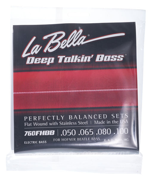 La Bella 760FHBB Beatle Bass Set