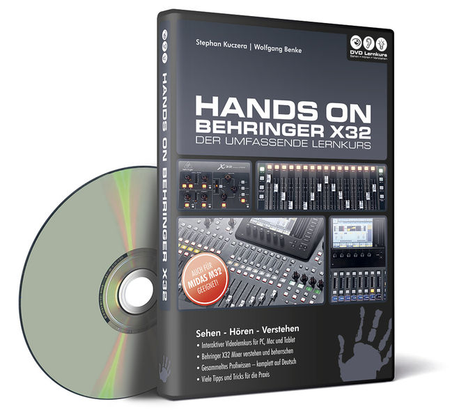 DVD Lernkurs Hands On Behringer X32