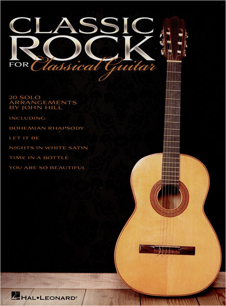 Hal Leonard Classic Rock For Class.Guitar