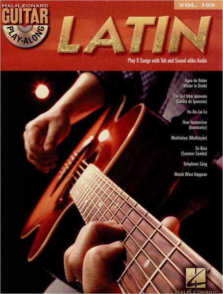 Hal Leonard Guitar Play-Along: Latin