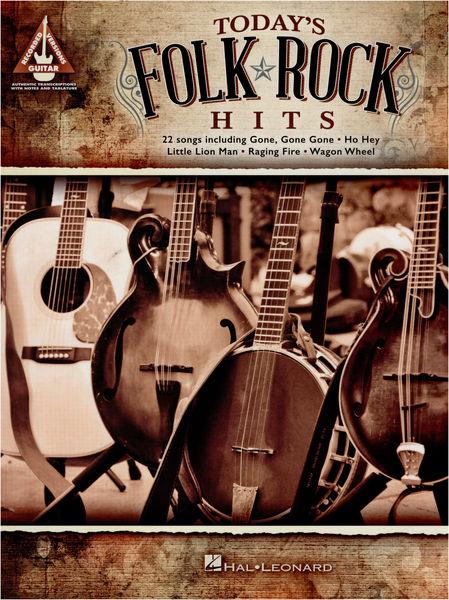 Hal Leonard Today's Folk Rock Hits-Guitar