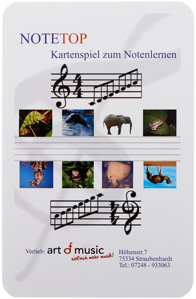 Art of Music NoteTop Spielend Noten