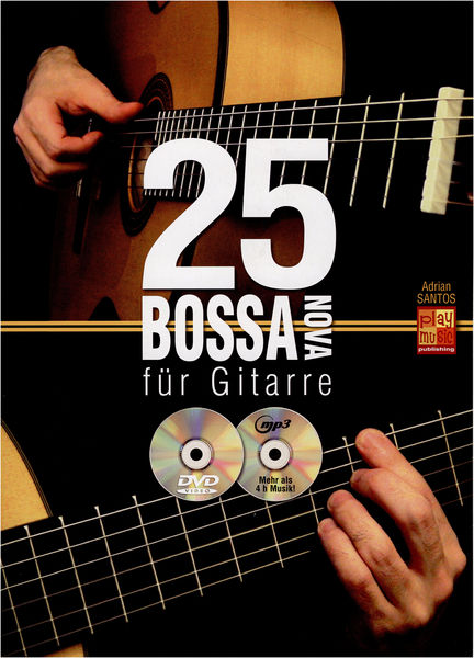 Play-Music Publishing 25 Bossa Nova für Gitarre