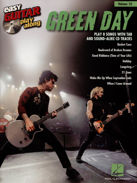 Hal Leonard Easy Guitar Play-Al.:Green Day