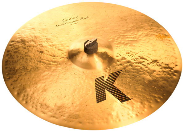 "Zildjian 21"" K Custom Dark Complex Ride"