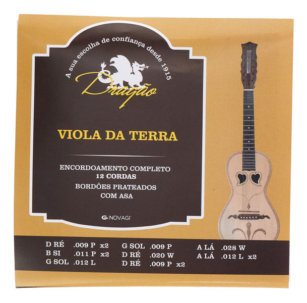 Dragao Viola da Terra Strings