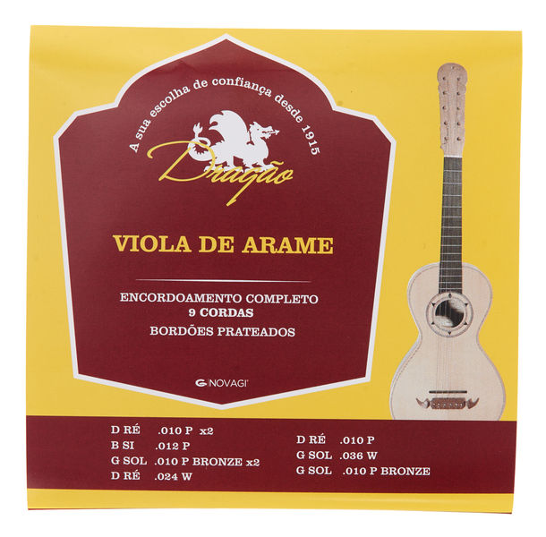 Dragao Viola de Arame Strings