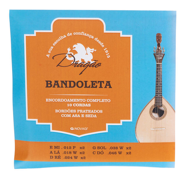 Dragao Bandoleta/Mandoleta Strings