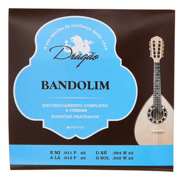 Dragao Bandolim/Mandolin Strings