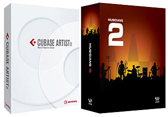 Steinberg Cubase Artist 8.5 Waves Bundle
