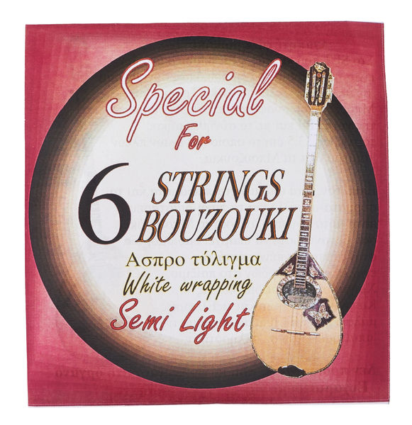 Kampana Bouzouki Strings 6 Semi Light