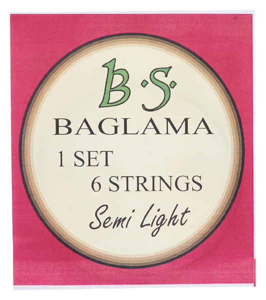 Kampana Baglama Strings 6 Semi Light