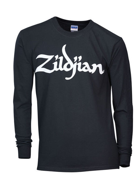 Zildjian Black Sweat Shirt with Logo L