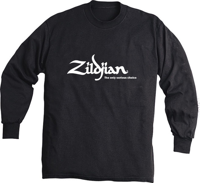 Zildjian Black Sweat Shirt with Logo L