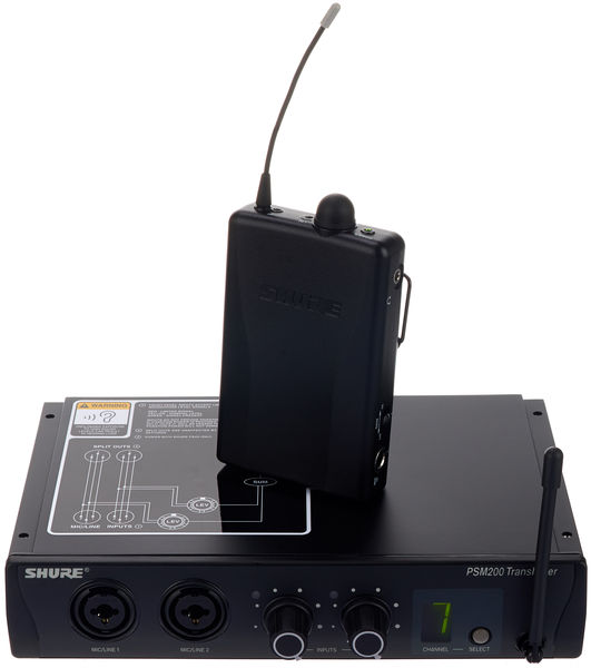 Shure PSM-200 - SE112 Set Q3