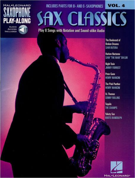 Hal Leonard Saxophone Play-Along:Classics