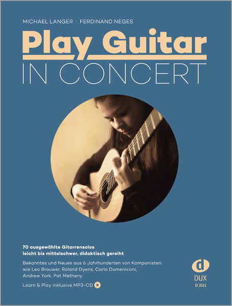 Edition Dux Play Guitar In Concert