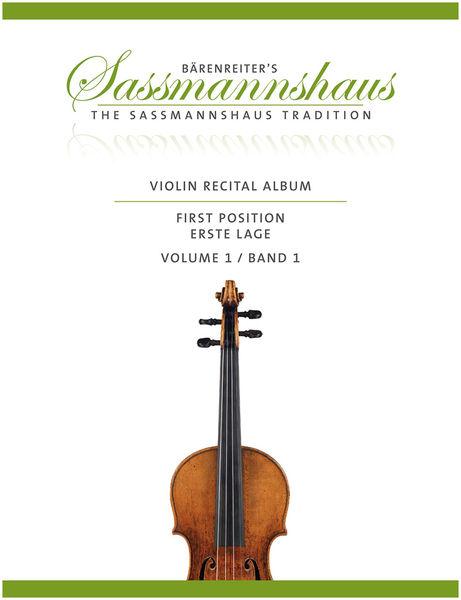 Bärenreiter Sassmannshaus Violin Album 1