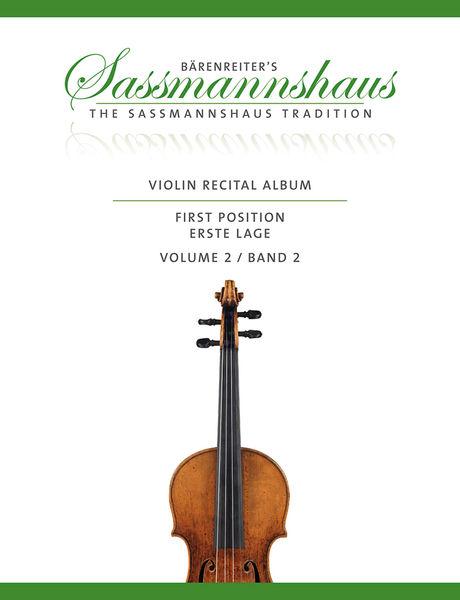 Bärenreiter Sassmannshaus Violin Album 2