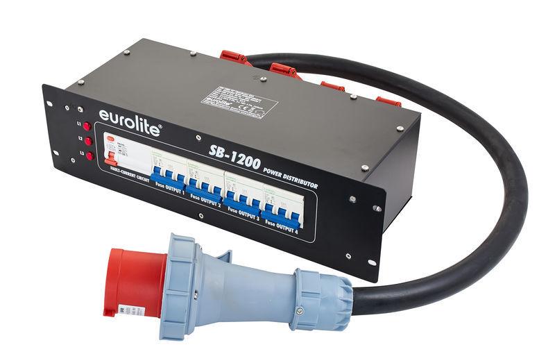 SB-1200 Power distributor 63A Eurolite