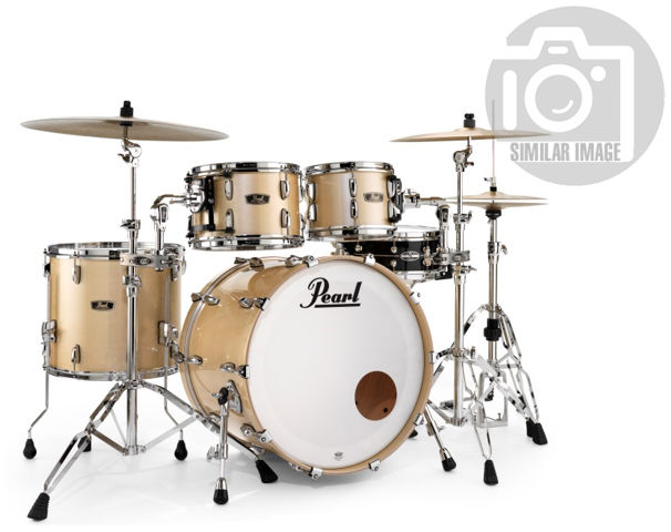 Pearl Wood Fiberglass Set Platinum