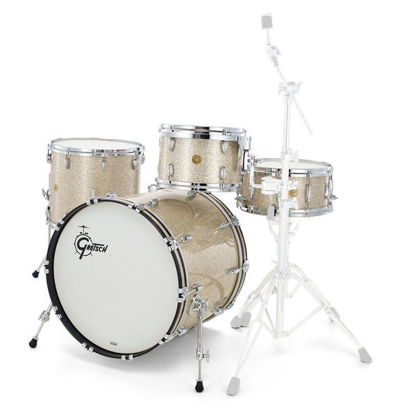 Gretsch USA Custom Rock - Silver Glass
