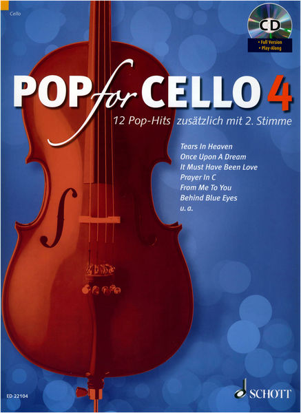 Schott Pop For Cello 4