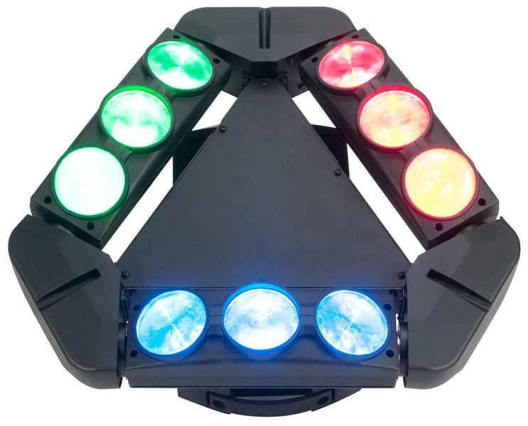 ADJ KAOS 9x10W RGBW Cree LEDs