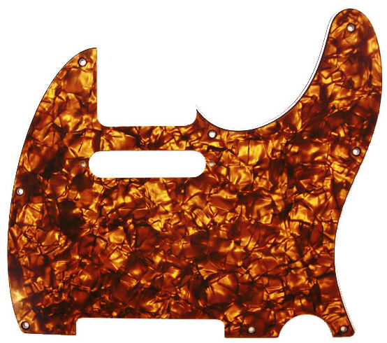 dAndrea T-Pickguard Orange Pearl