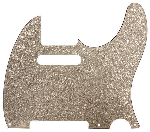 dAndrea T-Pickguard Silver Sparkle