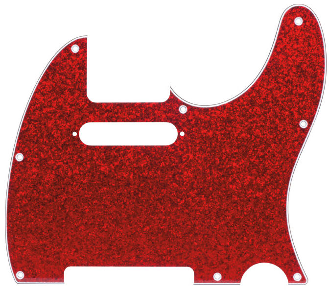 dAndrea T-Pickguard Red Sparkle