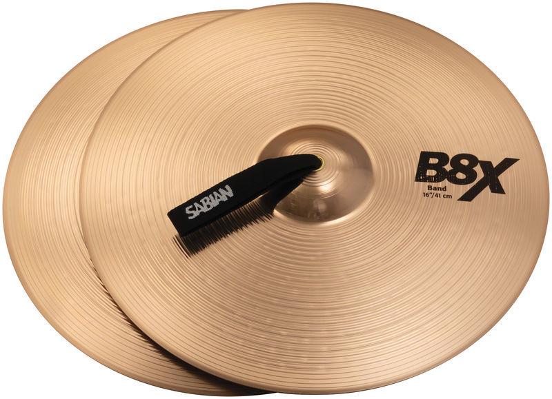 "Sabian 16"" B8X Marching Cymbals"