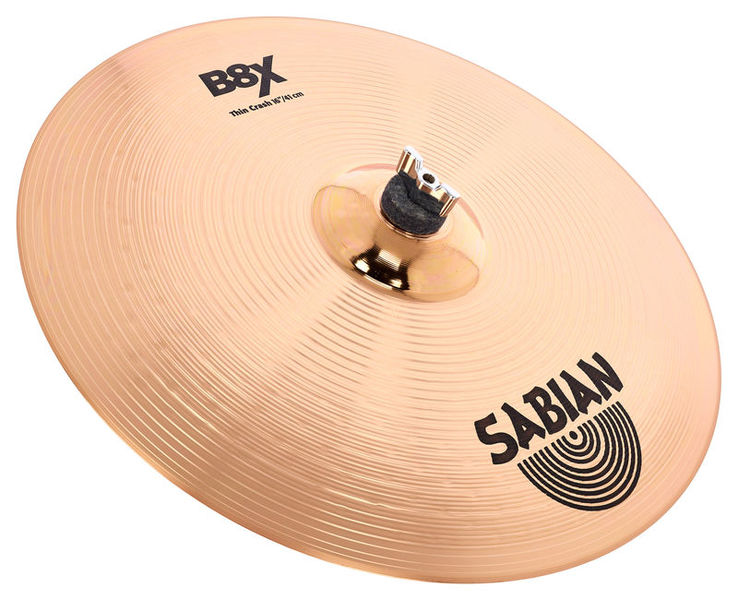 "Sabian 16"" B8X Thin Crash"