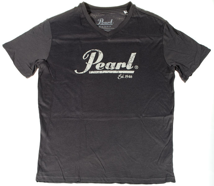 Pearl T-Shirt Pearl Logo Anthrazit S