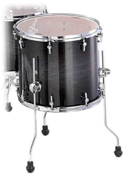 "Sonor 16""x16"" FT Select Black Burst"