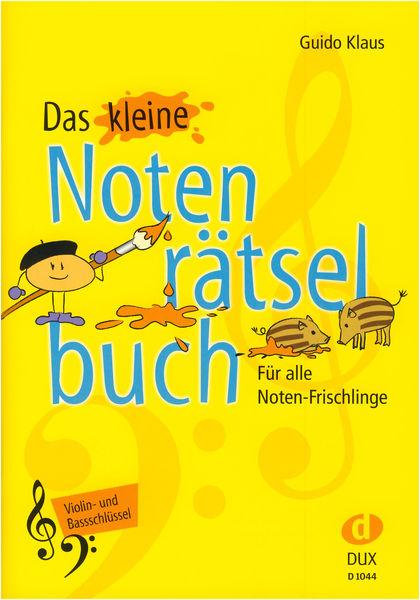 Kleine Notenrätsel Violin+Bass Edition Dux